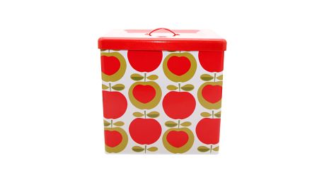 Chlebník Apple Heart s krásným designem červených jablíček