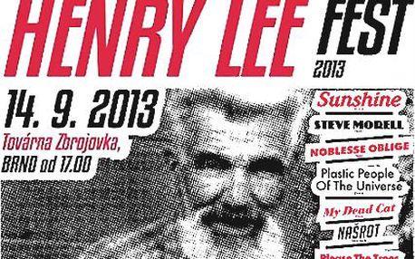 Vstupenka na festival Henry Lee Fest v Brně!