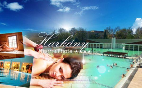 Čtyři dny v maďarsku v luxusním wellness hotelu thermal**** za fantastických 4490 kč včetně polopenze, volného vstupu do bazénu, saunového světa a termálního bazénu! Župan a wifi internet zdarma! Sleva 40%!