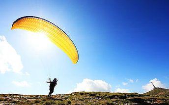 Tandemový paragliding včetně HD videa!