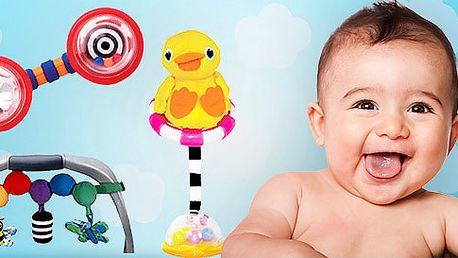 Balíček tří hraček Sassy pro nejmenší děti