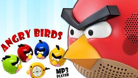 MINI mp3 přehrávač ANGRY BIRDS