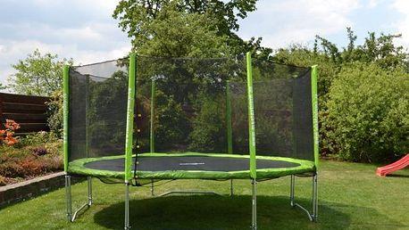 Speciální výhodný set trampolíny Masterjump Set trampolína 426 cm + Ochranná Síť