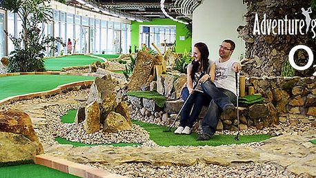 Hodina adventure golfu v O2 Aréně