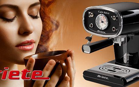 Designový retro kávovar Ariete. Výprodej!