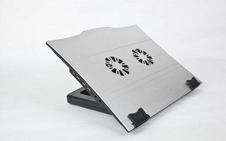 Gembird Podstavec pod notebook NBS-4, USB hub
