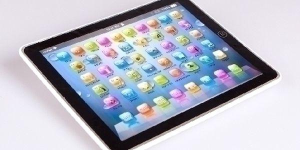 TOTALNÍ VÝPRODEJ !! Dětský tablet, který naučí děti interaktivním způsobem Anglické číslice, písmena a slova !