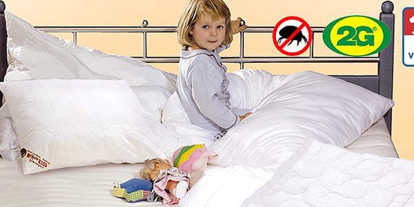 Výprodej antialergenní dětské sady přikrývky a polštáře