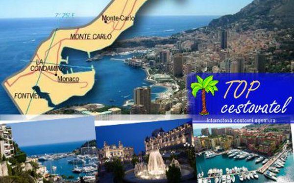 Do Monaka, země hazardu a sázek za 1999 Kč!