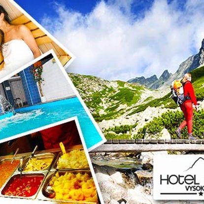 Vysoké Tatry s polopenzí nebo All Inclusive