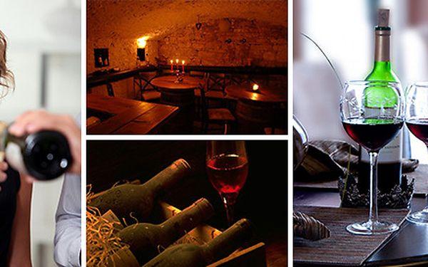 Vinařský kurz spojený s degustací špičkových vín