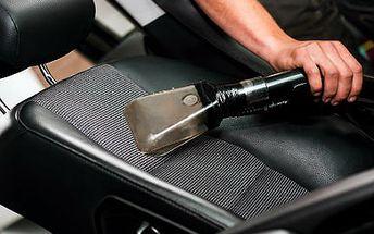 Profesionální mokré tepování vašeho automobilu v Brně