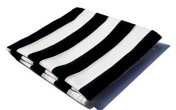 Pareo B&W - použijte jako sukni, krátké šaty, jako turban nebo jen tak přehoďte přes ramena.
