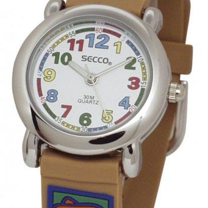 Roztomilé barevné dětské hodinky Secco pro holky ikluky