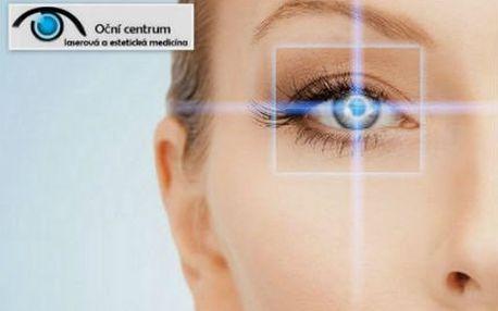 Poukaz na 40% slevu z laserové operace jednoho či obou očí