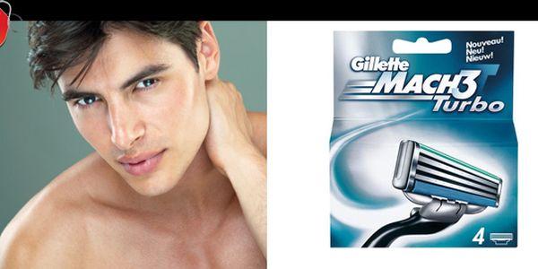 Nejoblíbenějí holící sada pro muže se slevou 38%: Gillette mach 3 turbo 4 ks s naší nabídkou pouze za 164 Kč.