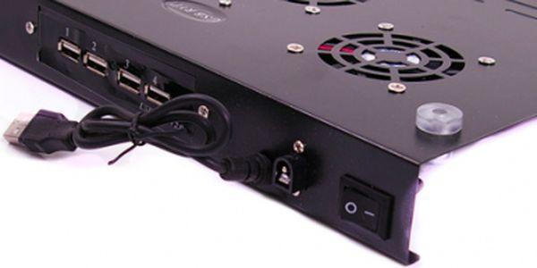 Je vedro, že? Ochraňte svůj notebook proti přehřátí!! Tento má navíc 4 USB porty a 3 větráčky!
