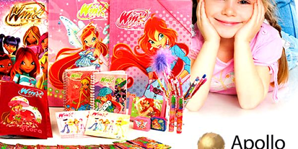 Velký školní balíček Winx Club pro malé slečny