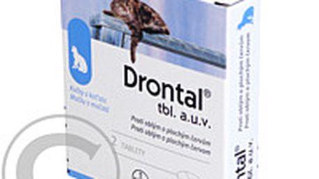 DRONTAL a.u.v. 2 tablety pro kočky a koťata