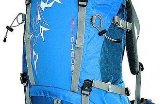 Dvoukomorový ruksak Doldy Wanaka 42 Modrá