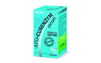 APO-Curenzym Profi cps. 60 - doplněk stravy obsahující směs enzymů výhradně neživočišného původu.