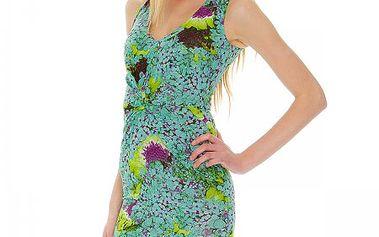 Letní dámské šaty Roberto Cavalli Vestito Jersey_37012, zelená