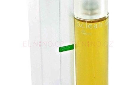 Benetton Be Clean Soft dámská toaletní voda 100ml Tester - tóny pomeranče s dotekem šťavnaté broskve