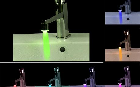 LED nástavec na kohoutek - 7 barev světla a poštovné ZDARMA! - 218