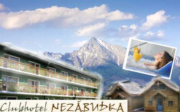 Tri dni v Tatrách len za 50 eur v hoteli Nezábudka***!