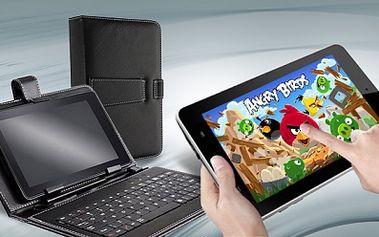 Nadupaný ULTRATENKÝ BÍLÝ TABLET ANGRY BIRDS Android 4.1 v češtině od pouhých 1650 Kč! Varianta i s klávesnicí! Elegantní bílá, redukce na modem, chránič obrazovky, ZDARMA 2 HRY A POŠTOVNÉ! Vhodný pro Vás i děti! Sleva 54%!