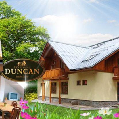 Penzion DUNCAN v Janských Lázních! TŘI dny za skvělých 999 Kč pro DVA! Pobyt se SNÍDANÍ, WiFi a parkingem! Pojeďte si odpočinout do krásné přírody Krkonoš se slevou 44%!