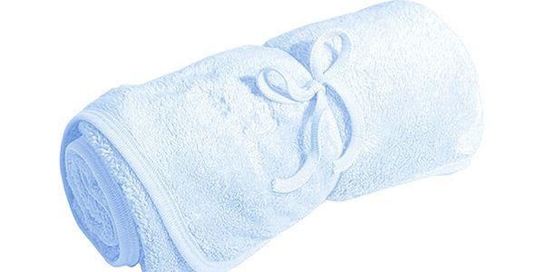 Modrá přikrývka (100 x 70 cm)