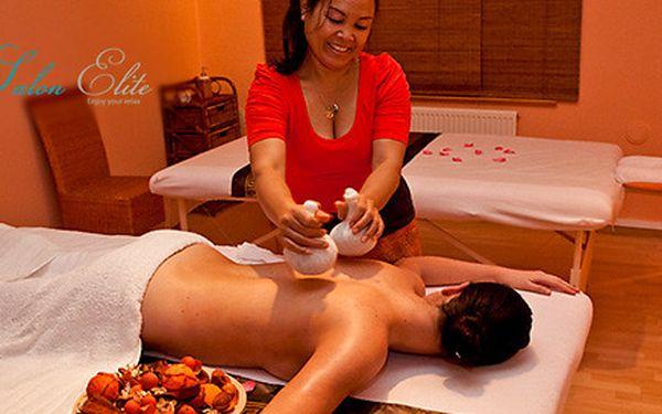 Výběr ze 4 exotických masáží v salonu Elite