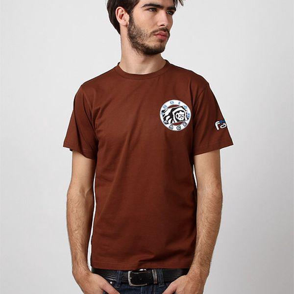 Pánské hnědé tričko Florian
