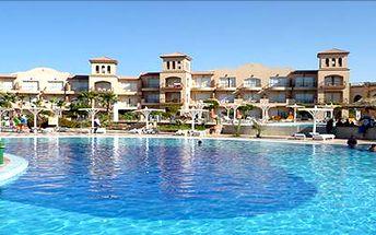 LAST MINUTE: Marsa Alam na 8 dní, 15.8.-22.8. Dovolená v luxusním resortu s all inclusive. Korálové potápění.