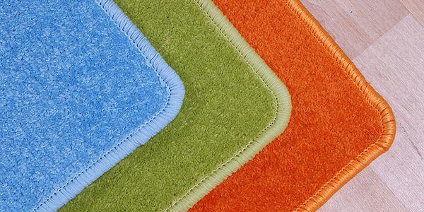 Obdelníkový koberec Eton zelená 120 x 160 cm