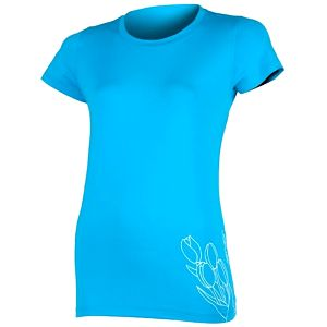 Sensor Coolmax Fresh PT Tulip dámské triko krátký rukáv modrá