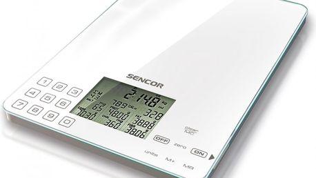 Nutriční dietická kuchyňská váha SENCOR SKS 6000 - II. jakost