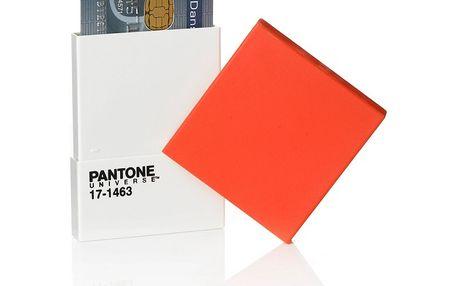 Obal na kreditky a vizitky, set 2ks, Tangerine Tango - 17-1463