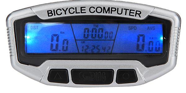 Cyklopočítač (tachometr na kolo) 15 funkcí SD-558A a poštovné ZDARMA! - 6604246
