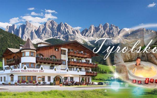 4 nebo 5 denní pobyt pro 2 osoby v Tyrolsku s NEOMEZENÝM WELLNESS již od 3990 Kč! Ubytování v rodinném hotelu Stockacher Hof se SNÍDANÍ + welcome drink! Užijte si letní dovolenou v západním Tyrolsku se slevou 45%!