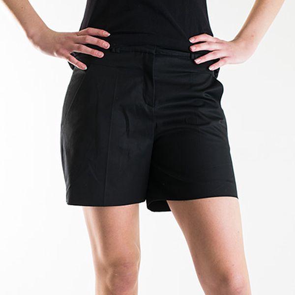 Elegantní krátké bavlněné kalhoty