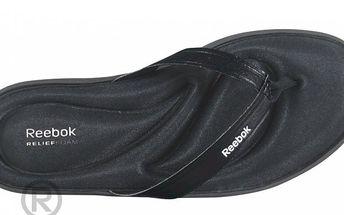 Stylové dámské žabky Reebok Comfort Reefresh Flip Black/White 4,5