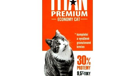 Titan Premium kompletní krmivo pro kočky, 1kg