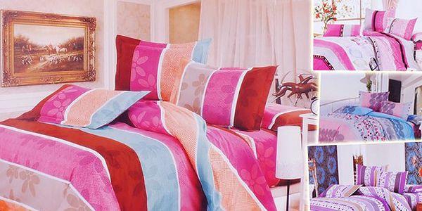 Kvalitní povlečení na 2 postele s 60% slevou!