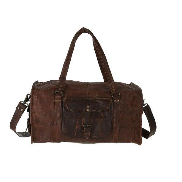"""Pánská kožená taška Duffel Bag 20"""" od značky Vida Vida"""