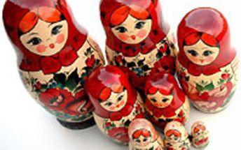 Kurz ruštiny pro mírně pokročilé s rodilou mluvčí