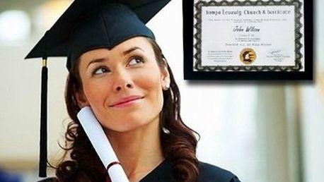 Čestný doktorát na TLCI v USA pro vás nebo jako dárek