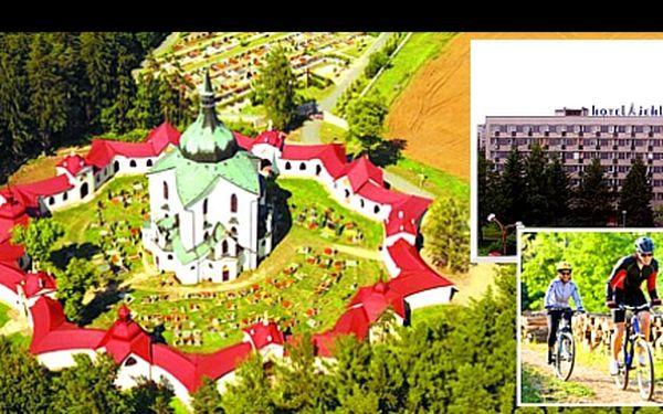 Léto na VYSOČINĚ pro 2 osoby na 3 dny včetně POLOPENZE v hotelu JEHLA za skvělých 2 490 Kč. Zavítejte do CYKLISTICKÉHO RÁJE a užijte si dovolenou plnou zajímavých turistických cílů na Žďársku!