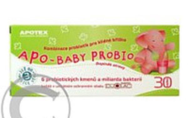 Směs šesti probiotických kmenů APO-Baby Probio sáčky 20ks : Lékárna.cz